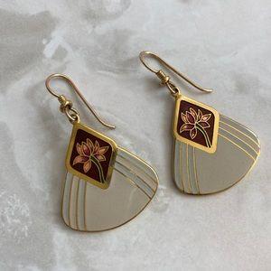Laurel Burch Flower Earrings